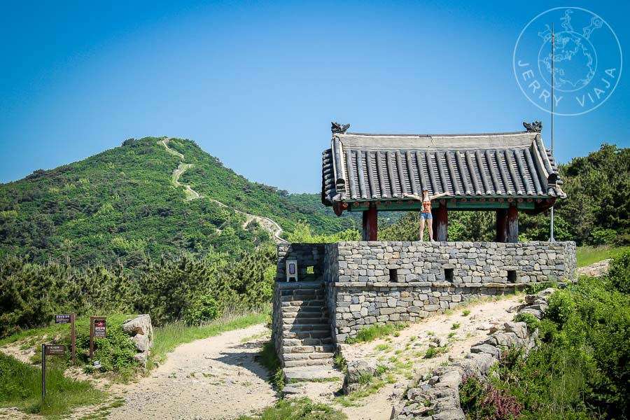 Antiguo punto de contro, montaña de Geumjeongsan
