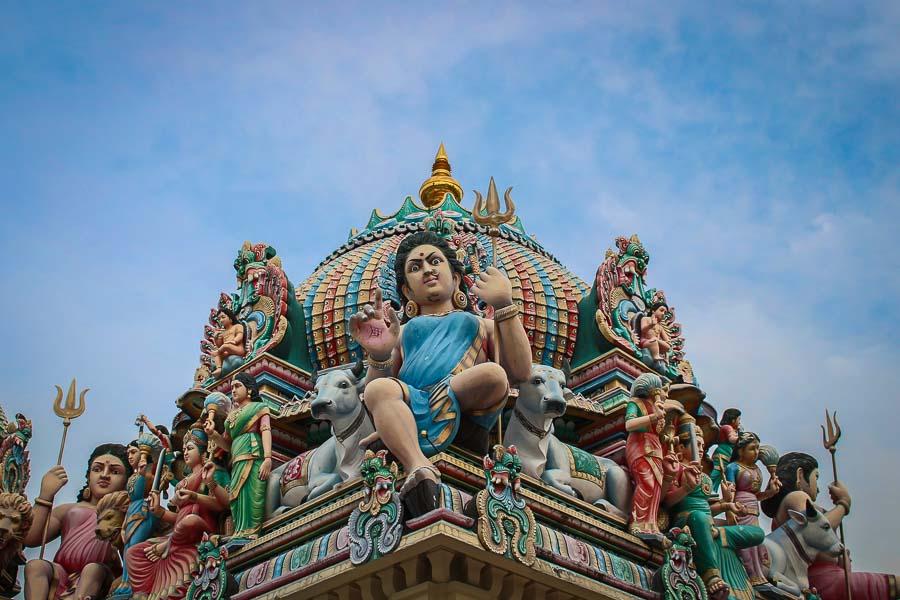 Sri Mariamman Temple, el templo hindú más antiguo de Singapur