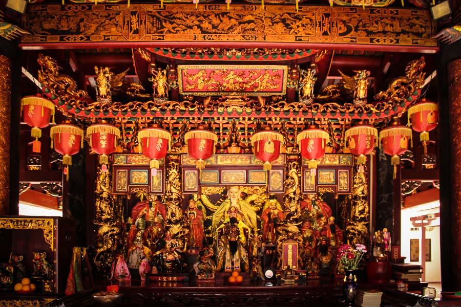 Thian Hock Keng, el templo chino más antiguo en Singapur