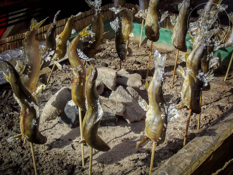 Cocinar en Japón. Pescado asado