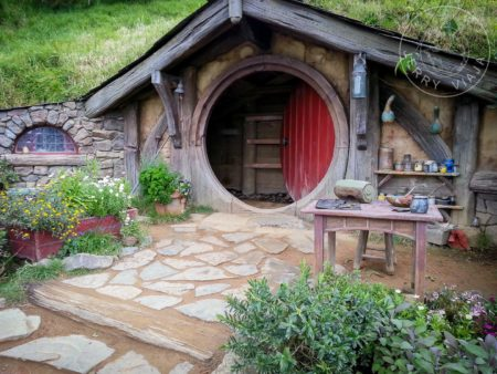 Gastos en Nueva Zelanda. Hobbiton