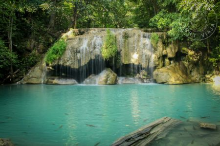 Parque Nacional de Erawan. Segundo Nivel: Wang Macha sin gente