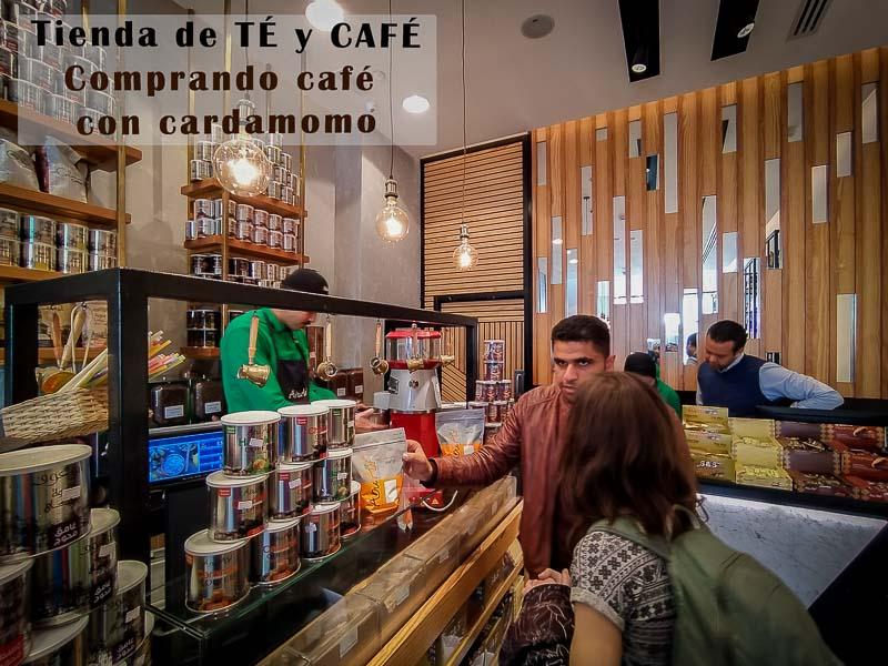 Tienda de té y café