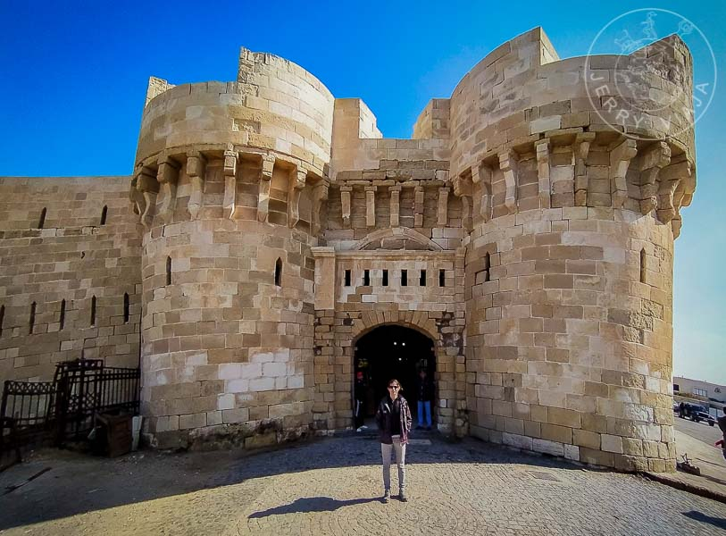 Entrada a la Ciudadela de Qaitbay