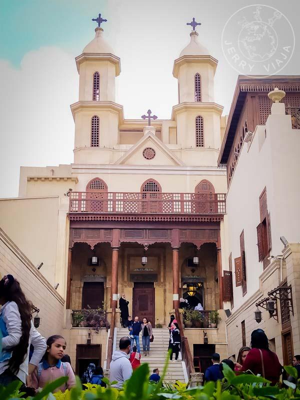 Entrada a la Iglesia Colgante