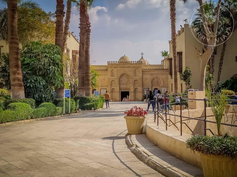Entrada al Mueso Copto