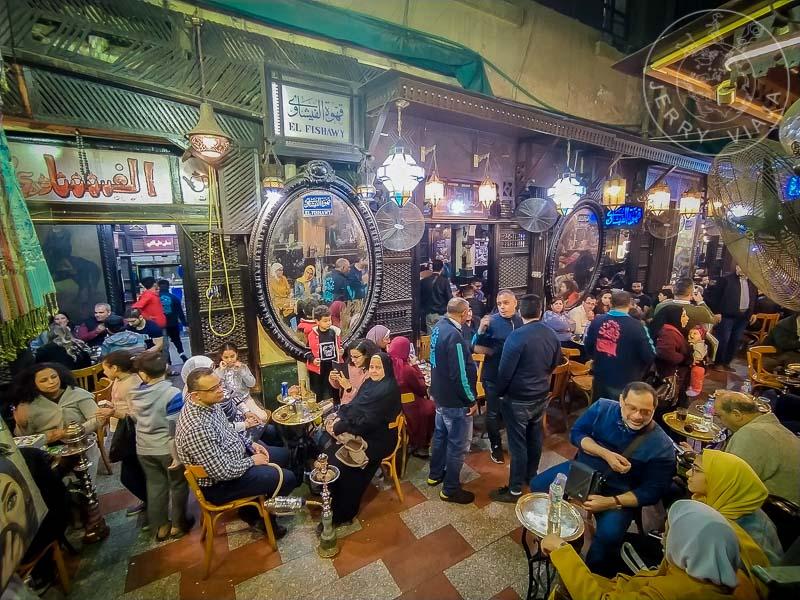 Café El Fishawy o Café de los Espejos.
