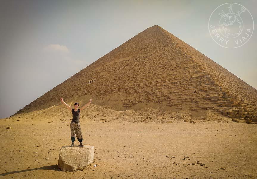 Pirámide Roja, Dashur