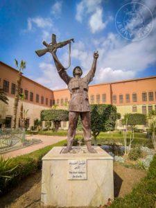 Estatua en el museo militar, Ciudadela de Saladino