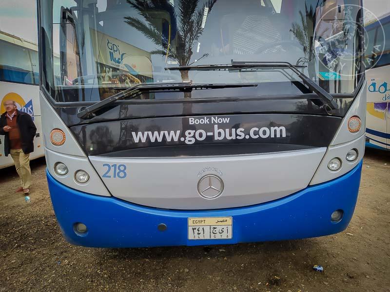 Autobús de la compañía Go Bus