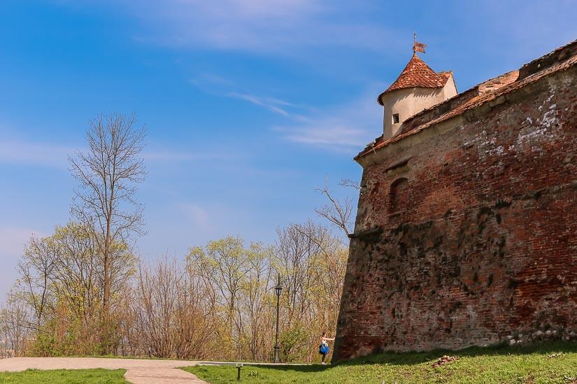 Fortaleza de Brasov o Ciudadela de la Colina, Rumania