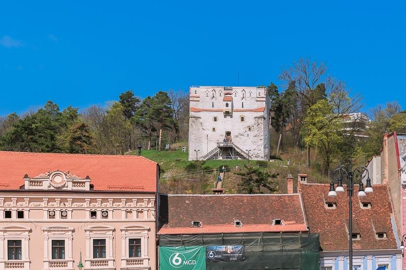Torre Blanca de Brasov, Rumania.
