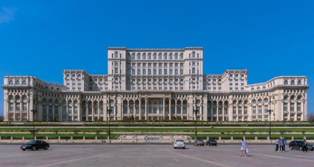Palacio Parlamentario de Bucarest, Rumania