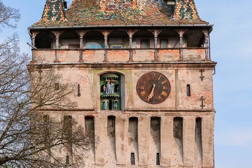 Torre del Reloj o Turnul Cu ceas de Sighisoara, Rumania.