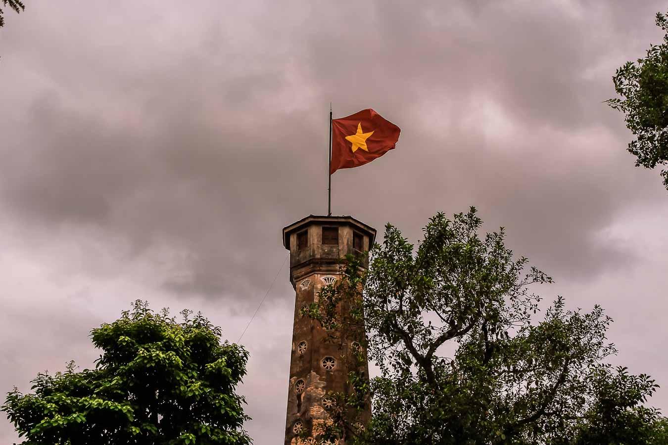 Guia que ver en Hanoi Bandera de Vietnam