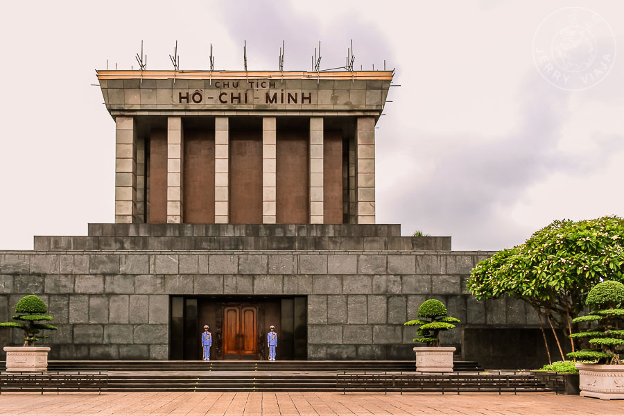 Mausoleo de Ho Chi Minh, Hanoi, Vietnam