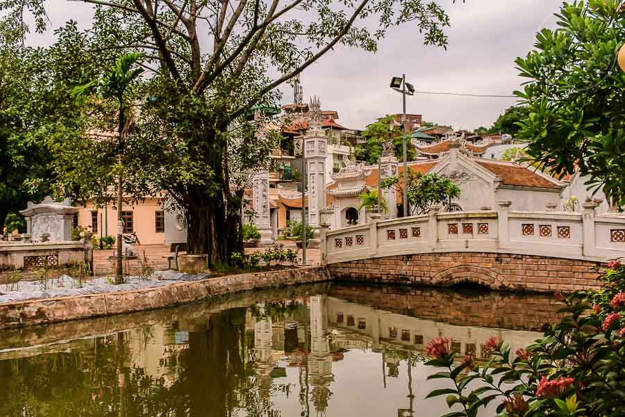 Templo de la Literatura en Hanoi, Vietnam