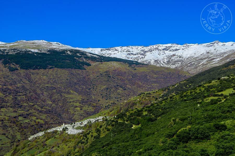 Capileira, pueblo más bonito de españa, pico del veleta, pico del mulhacen, Sierra Nevada, Las Alpujarras