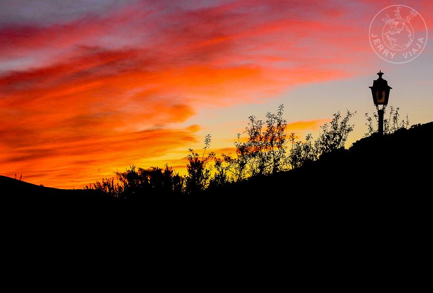 Atardecer en Mecina, Alpujarra, España