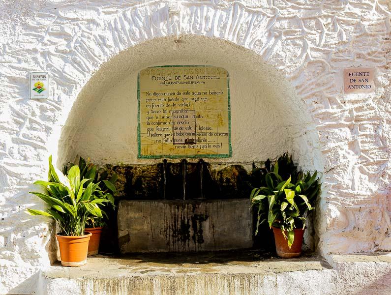 Fuente San Antonio, Pampaneira, España