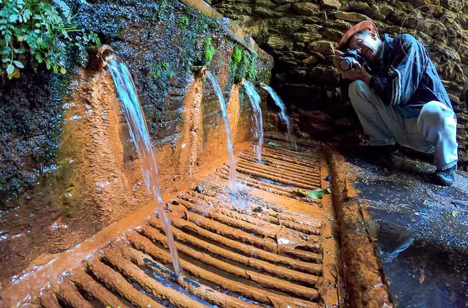 Fuente Agria de Pórtugos, Pueblos de Granada, Alpujarra Granadina, Sierra Nevada, España