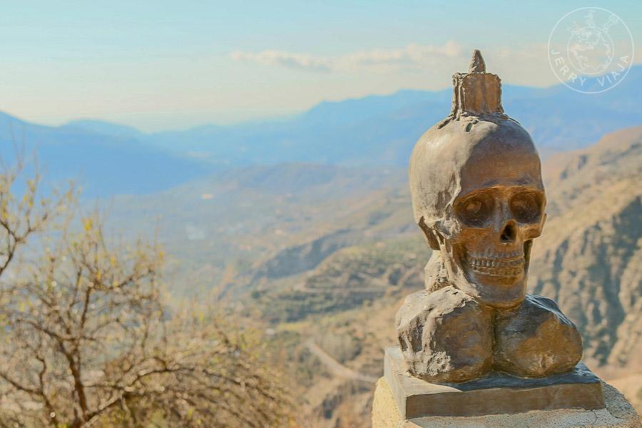 Panorama Soportújar, pueblos de Granada, alpujarra granadina, españa