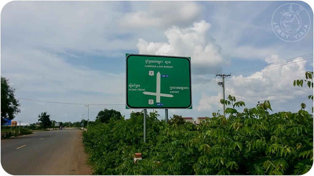 Camino a Laos