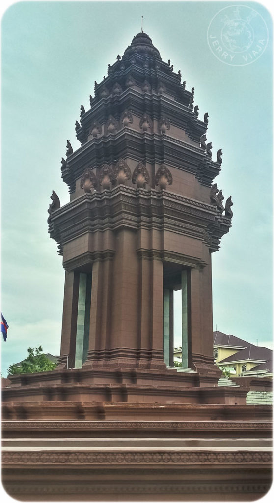 Monumento de la Independencia, Phnom Penh, Camboya