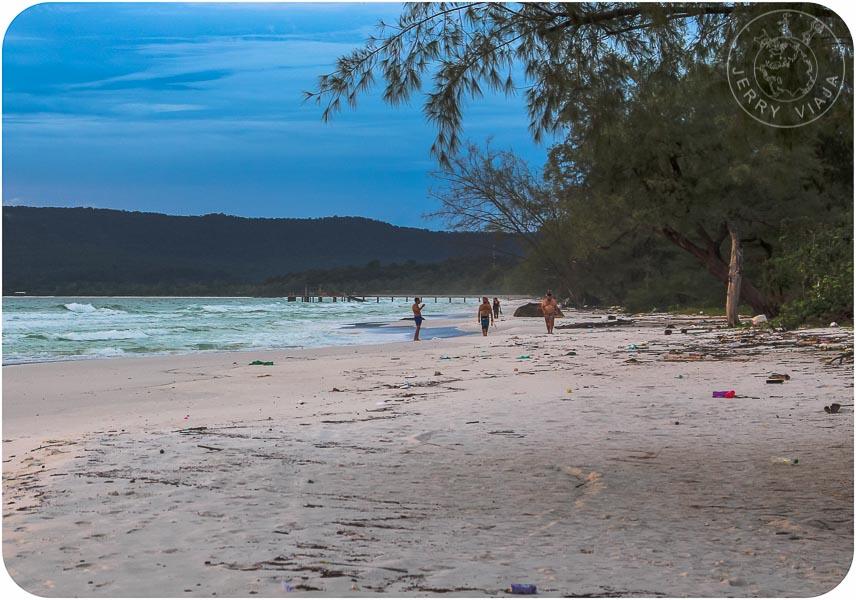Long Beach, Playa de Koh Rong en Camboya