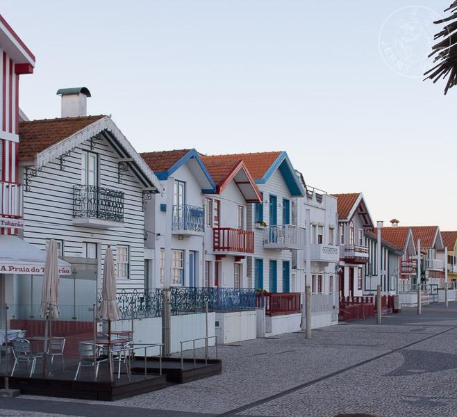 Palheiros, típicas casas de Costa Nova.