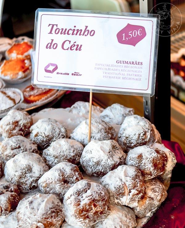 Toucinho do Ceu, dulce típico de la región.