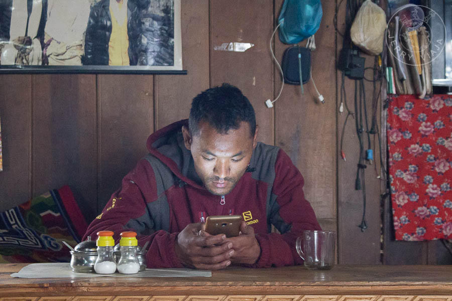 Sherpa en Nepal