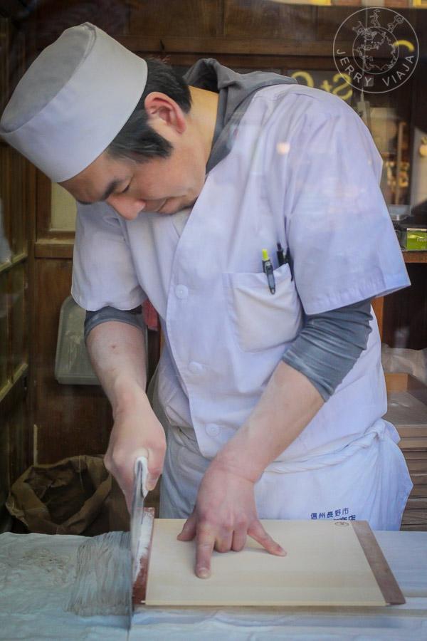 Soba casero en Nagano, Japn