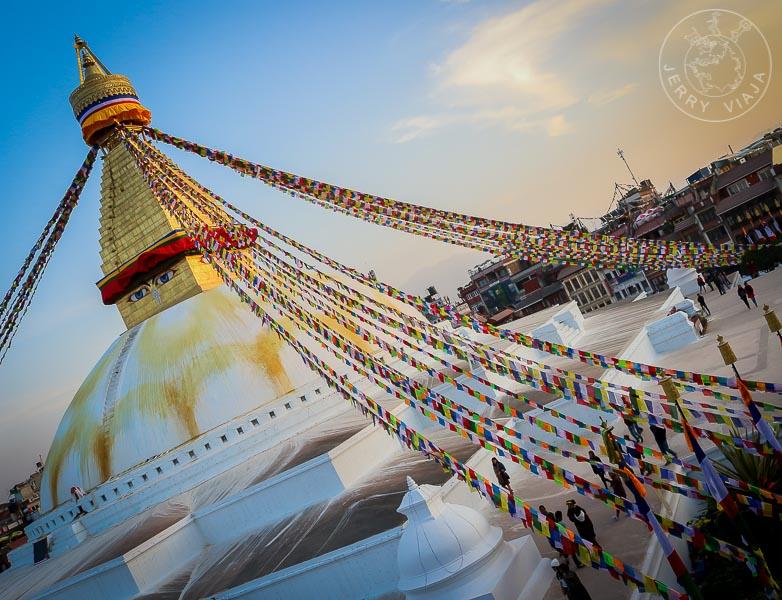 Katmandú Capital de Nepal Bauddhanath, Khatmandu, Nepal Budismo
