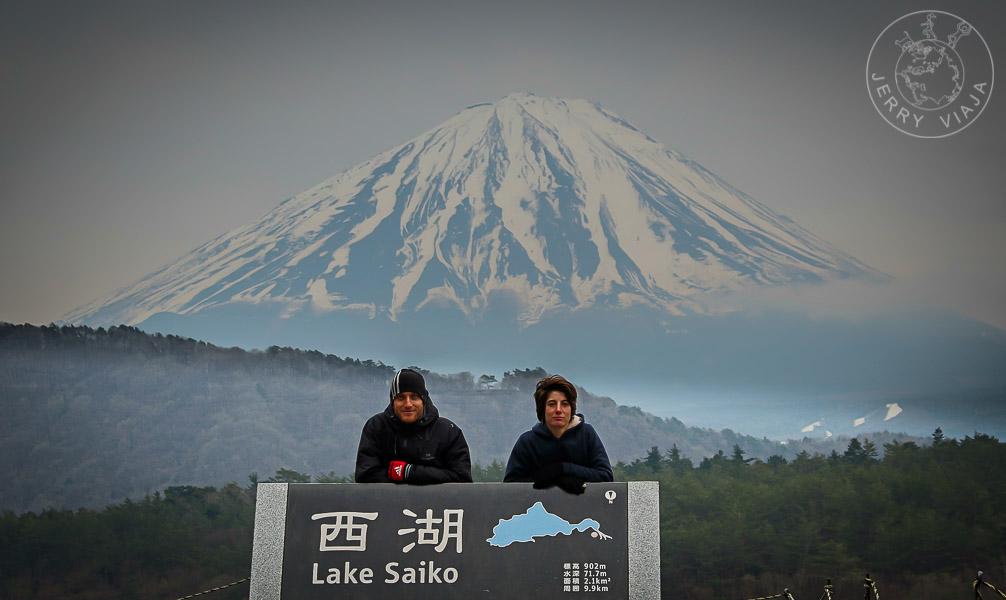 Lago Saiko, Región de los Cinco Lagos, Monte Fuji, Japon