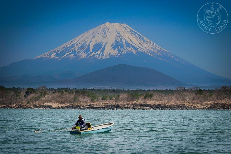 Lago Shoji, Monte Fuji, Japon