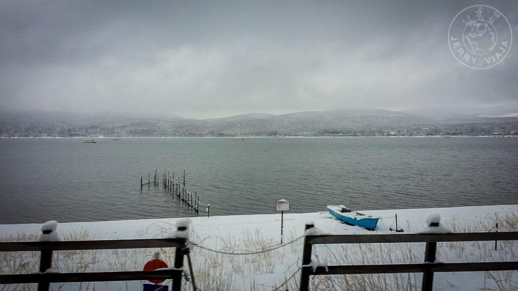 Lago Yamanaka, Monte Fuji, Region de los Cinco Lagos, Japon