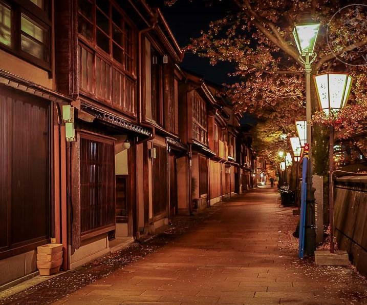 Distrito de geishas Kazuemachi, Kanazawa, Japon
