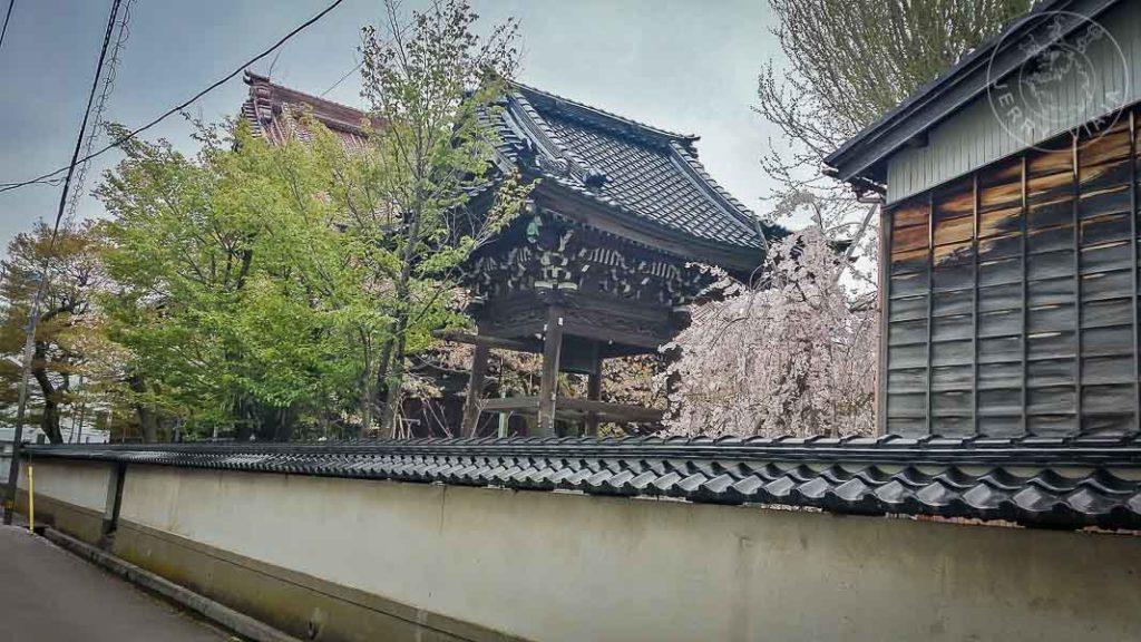 Distrito samurai Nagamachi, Kanazawa Japon