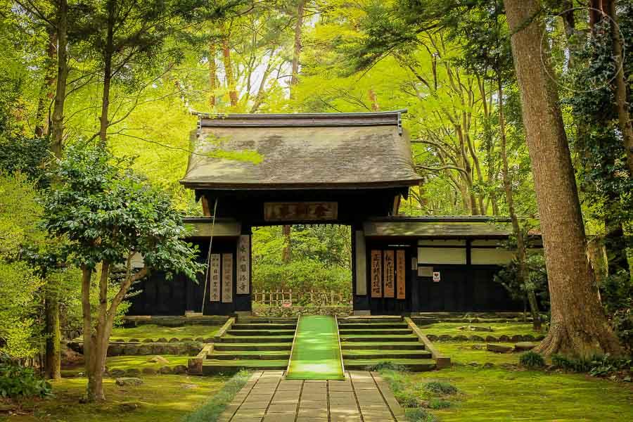 Templo Daijoji, Kanazawa, Japon