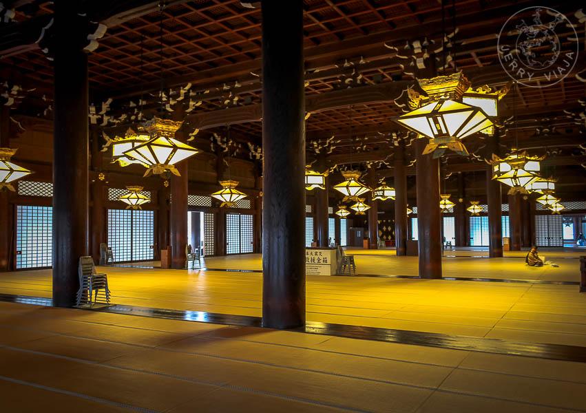 Templo Higashi Honganji, Kyoto, Japón