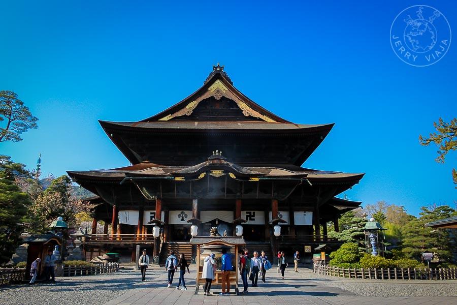 Templo Zenkoji, Nagano, Japon