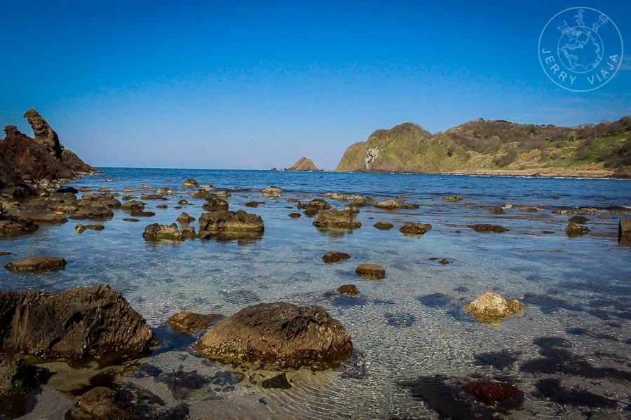 Playa de Okunoto, Mar de Japón, Peninsula de Noto, Japon
