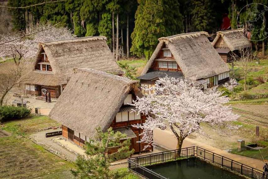 Villa de Suganuma y Gokayama Gassho No Sato, Región de Gokayama, Japon
