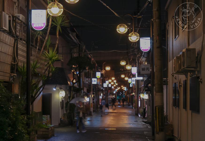 Barrio rojo Tobita Shinchi, Osaka, Japón