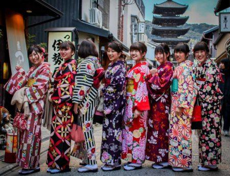 Viajar a Japon, kimono, kioto