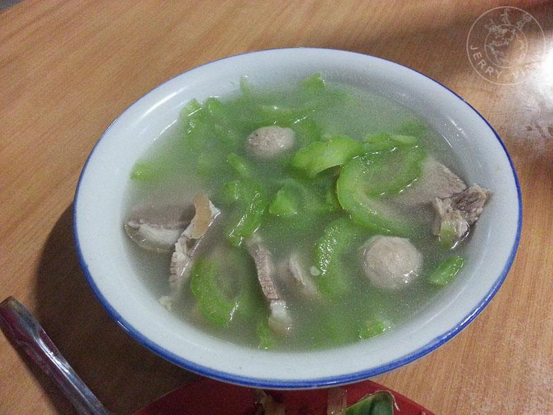 Bitter gourd soup, Malasia
