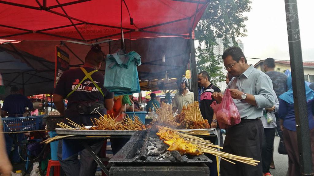 Satay, Malasia.
