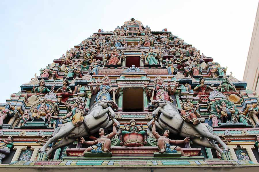 Templo hindú Sri Maha Mariamman, Kuala Lumpur, Malasia