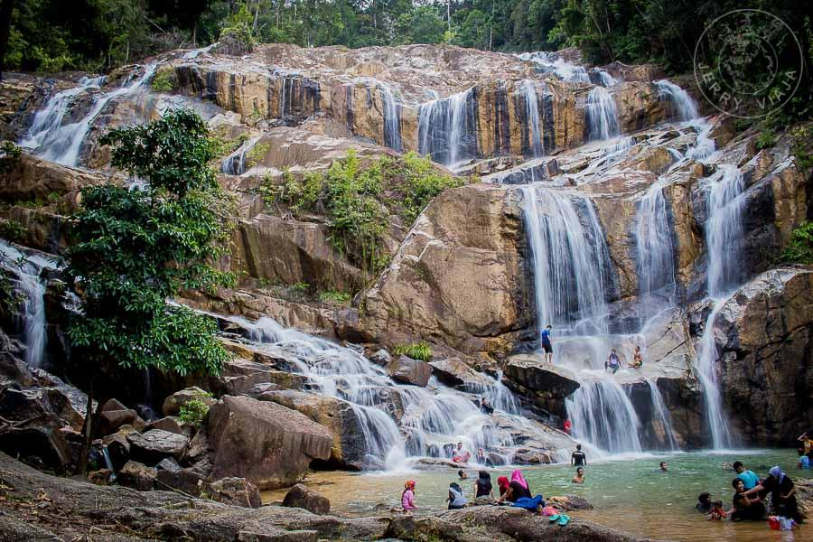 Cascadas de Sungai Pandan, Kuantan, Malasia